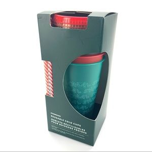 Starbucks 2019 Holiday Reusable Cold Cup Pack of 5